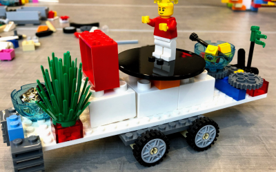 Legos are the best thinking and problem solving tool you've ever played with